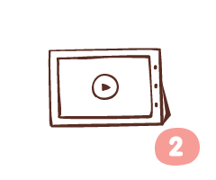2.觀看製作流程
